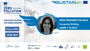 Irene Fernandez Villegas, representative of SAMPE (Society for Advancement of Materials and Process Engineering) and associate professor in Aerospace Engineering at TU Delft (Netherlands)