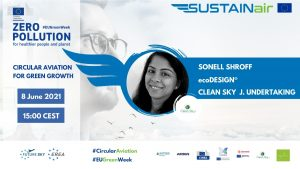 Sonell Shroff of Clean Sky Joint Undertaking and project officer for EcoDesign