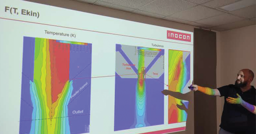 INOCON´s novel plasma technology for sensor application at the SBI Open House with SUSTAINair