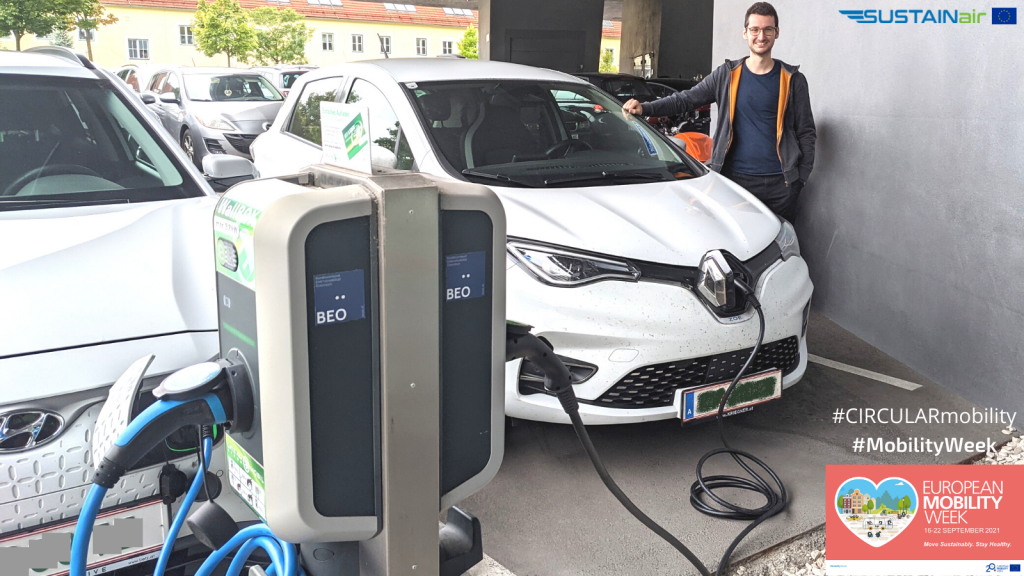 European Mobility Week 2021 with SUSTAINair project partners
