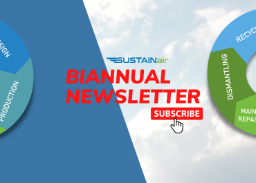 1st SUSTAINair Newsletter is out!